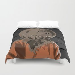 Always Check Your Candy...  Duvet Cover