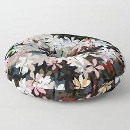 Country Breeze Flower Garden Floor Pillow