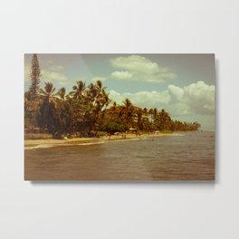 Vintage Maui 2 Metal Print