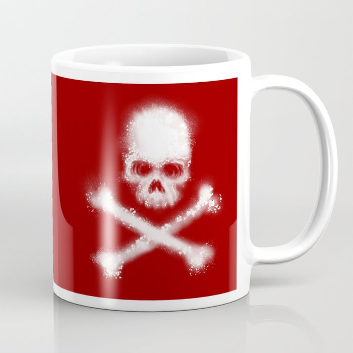 Yo Ho by BINDU (Ox Blood) Coffee Mug