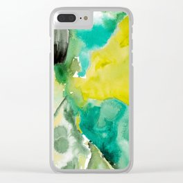 Mossy North Side Clear iPhone Case