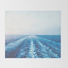 Out to Sea Throw Blanket