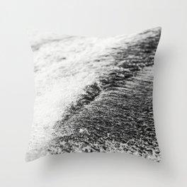 Turbulent Lake Water 6 Throw Pillow