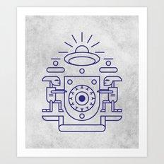 UFO Watchers Art Print