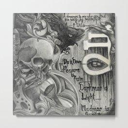 666 Mix Metal Print