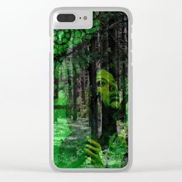 Point of no return Clear iPhone Case