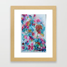 Lily Pad Dreaming Framed Art Print