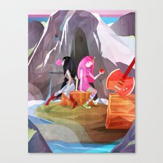 P-Bubbs and Marcy Canvas Print