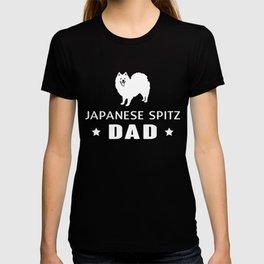 Japanese Spitz Dad Funny Gift Shirt T-shirt