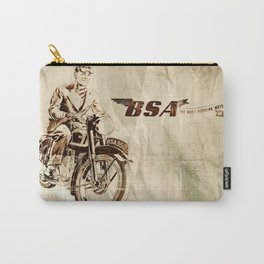 BSA - Vintage Poster Carry-All Pouch