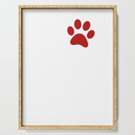 Paw Love French Bulldog Serving Tray