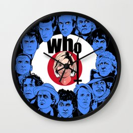 Who / The Doctors Wall Clock