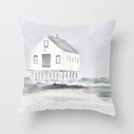Cape Porpoise • Kennebunkport Throw Pillow