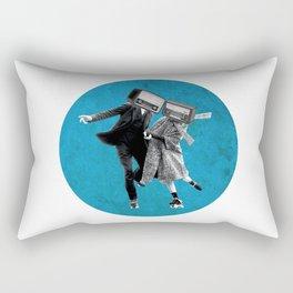 Radio rolling skaters Rectangular Pillow
