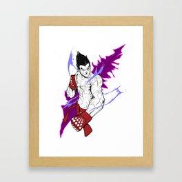 Kazuya Framed Art Print