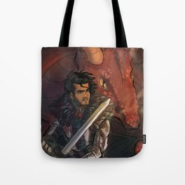 Dragons and Direction: Zayn Tote Bag