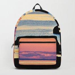 Painted Seas at Dusk Backpack