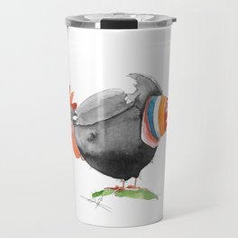 Hen and Egg Story Travel Mug