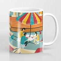 thailand Mugs featuring Bangkok, Thailand by Sam Brewster