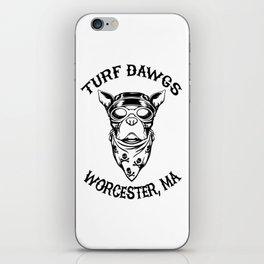 Worcester Turf Dawgs iPhone Skin