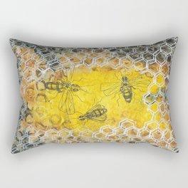 Protecting the Brood Rectangular Pillow