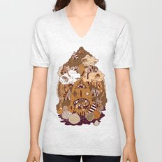 Of the forest Unisex V-Neck