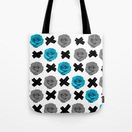 Blue Roses Tote Bag