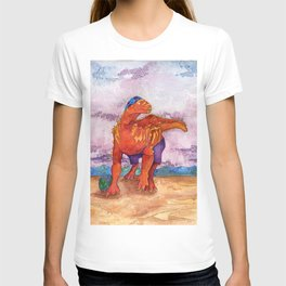 Beach Ball Dinosaur - Barney T-shirt