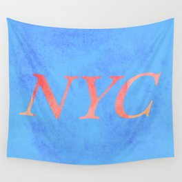 New York Print Wall Tapestry