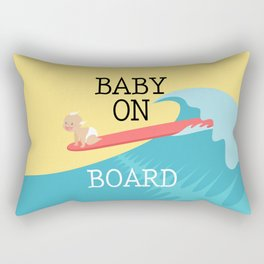 Baby On Board Rectangular Pillow