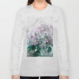 Soft Pastel Hydrangeas Long Sleeve T-shirt