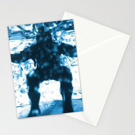Aqua Man Stationery Cards