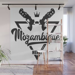 Mozambique Here! Wall Mural