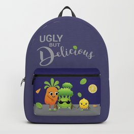 Ugly Fruits and Veggies Backpack