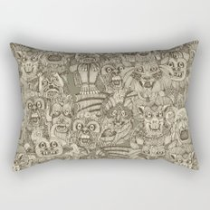 gargoyles vintage Rectangular Pillow