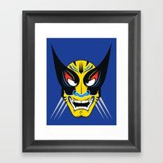 Kabuki Wolverine Framed Art Print