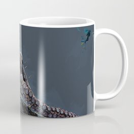 """Release the Kraken"" - Giant Octopus Digital Illustration Coffee Mug"