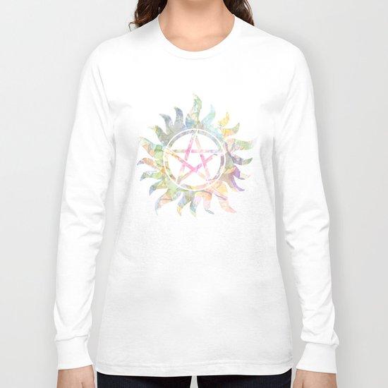 Supernatural watercolours Long Sleeve T-shirt