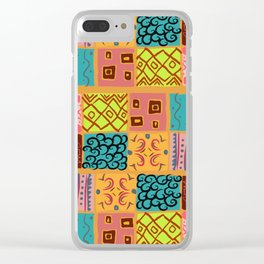 Rony Subahi Drawing Clear iPhone Case