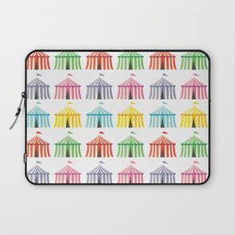 colourful circus tents Laptop Sleeve