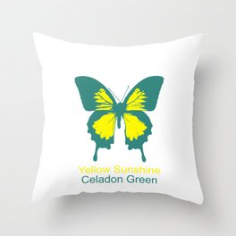 Ulysses Butterfly 1 Throw Pillow