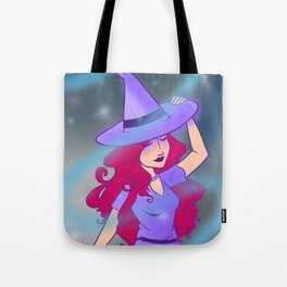 Little Miss Witch Tote Bag