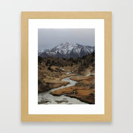 Long Valley Caldera Framed Art Print