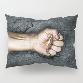 Protest fist Pillow Sham