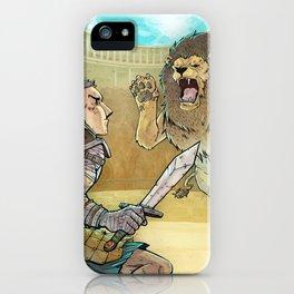 Gladiador iPhone Case