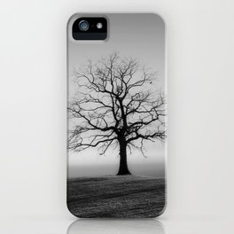 Field and Tree iPhone Case