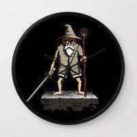 gandalf Wall Clocks featuring Gandalf genial by le.duc
