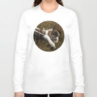 pony Long Sleeve T-shirts featuring Dartmoor Pony  by Goncalo
