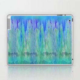 Shadows and Reflections in Shades of Blue and Green Laptop & iPad Skin