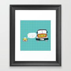 Dad Luv Framed Art Print